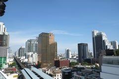 Μητρόπολη της Μπανγκόκ στοκ εικόνες