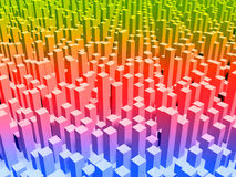 μητρόπολη χρώματος Στοκ Φωτογραφία