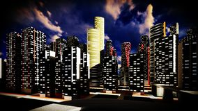 Μητρόπολη - πανοραμική άποψη στοκ φωτογραφία με δικαίωμα ελεύθερης χρήσης