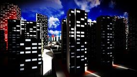 Μητρόπολη - πανοραμική άποψη στοκ φωτογραφία