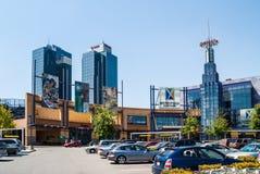 Μητρόπολη σε Metrotown, Βανκούβερ, Π.Χ. στοκ εικόνες