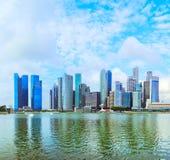 Μητρόπολη της Σιγκαπούρης στοκ φωτογραφίες