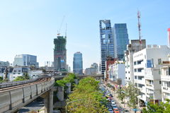 Μητρόπολη της Ταϊλάνδης Στοκ Φωτογραφίες