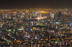 Μητρόπολη του Τόκιο, νύχτα στοκ φωτογραφία με δικαίωμα ελεύθερης χρήσης