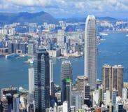 Μητρόπολη Χονγκ Κονγκ στοκ εικόνα με δικαίωμα ελεύθερης χρήσης