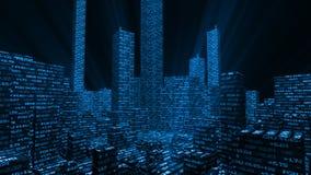 Μητρόπολη χρηματιστηρίου διανυσματική απεικόνιση