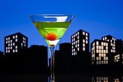 Μητρόπολη Apple Martini Στοκ Εικόνες