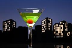 Μητρόπολη Apple Martini Στοκ Φωτογραφία