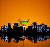Μητρόπολη Apple Martini Στοκ εικόνες με δικαίωμα ελεύθερης χρήσης