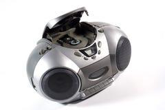 μηχάνημα αναπαραγωγής CD κασετών Στοκ Φωτογραφίες