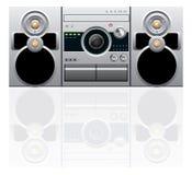 μηχάνημα αναπαραγωγής CD κα&sigm Στοκ Φωτογραφίες