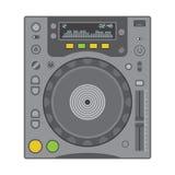 Μηχάνημα αναπαραγωγής CD του DJ Στοκ εικόνες με δικαίωμα ελεύθερης χρήσης