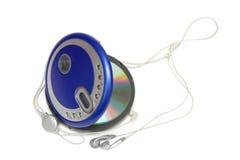 Μηχάνημα αναπαραγωγής CD στοκ φωτογραφία με δικαίωμα ελεύθερης χρήσης
