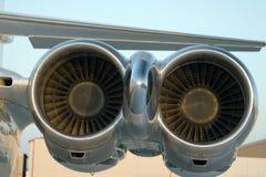 μηχανές αεροσκαφών Στοκ φωτογραφίες με δικαίωμα ελεύθερης χρήσης