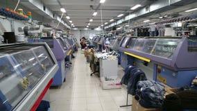 Μηχανές και μηχανισμοί το εργοστάσιο στην εργασία απόθεμα βίντεο