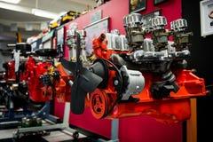Μηχανές στη διαδρομή 66 μουσείο αυτοκινήτων Στοκ εικόνες με δικαίωμα ελεύθερης χρήσης