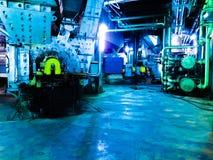 Μηχανές στο εργοστάσιο Στοκ φωτογραφία με δικαίωμα ελεύθερης χρήσης