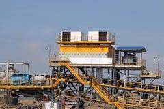 Μηχανήματα ανθρακωρυχείου Στοκ Φωτογραφία