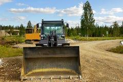 Μηχανήματα κατασκευής Στοκ φωτογραφία με δικαίωμα ελεύθερης χρήσης