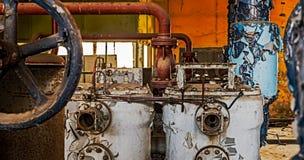 Μηχανήματα που εγκαταλείπονται βιομηχανικά Στοκ φωτογραφίες με δικαίωμα ελεύθερης χρήσης