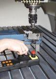 Μηχανή άλεσης μετάλλων Στοκ εικόνες με δικαίωμα ελεύθερης χρήσης