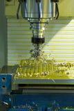 Μηχανή άλεσης CNC στοκ φωτογραφία