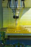 Μηχανή άλεσης CNC στοκ φωτογραφίες