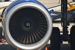 Μηχανή αεροσκαφών Στοκ εικόνα με δικαίωμα ελεύθερης χρήσης