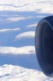 μηχανή αεροσκαφών στοκ εικόνες με δικαίωμα ελεύθερης χρήσης