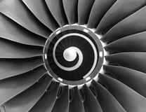 μηχανή αεροσκαφών Στοκ Φωτογραφία