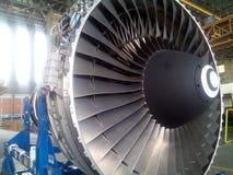 μηχανή αεροσκαφών Στοκ φωτογραφία με δικαίωμα ελεύθερης χρήσης