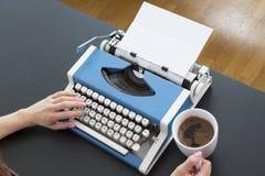 Μηχανή δακτυλογράφησης Στοκ φωτογραφίες με δικαίωμα ελεύθερης χρήσης