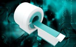 Μηχανή ανίχνευσης CT Στοκ Εικόνες
