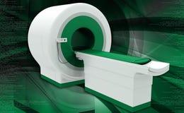 Μηχανή ανίχνευσης CT Στοκ φωτογραφία με δικαίωμα ελεύθερης χρήσης