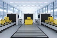 Μηχανή ανίχνευσης Luggages απεικόνιση αποθεμάτων