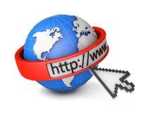 Μηχανή αναζήτησης Διαδικτύου Στοκ φωτογραφία με δικαίωμα ελεύθερης χρήσης