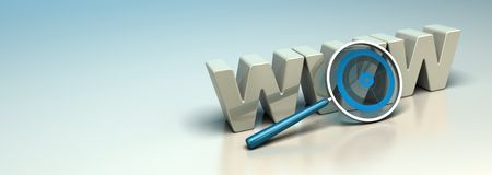 Μηχανή αναζήτησης Ιστού, έννοια Διαδικτύου SEO απεικόνιση αποθεμάτων