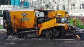 Μηχανή ασφάλτου Στοκ εικόνα με δικαίωμα ελεύθερης χρήσης