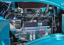 μηχανή αυτοκινήτων παλαιά Στοκ Εικόνες