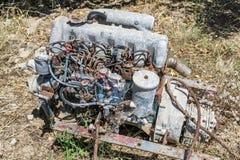 μηχανή αυτοκινήτων παλαιά Στοκ Φωτογραφία