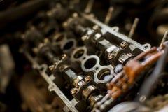 Μηχανή αυτοκινήτων στην υπηρεσία Στοκ Εικόνα