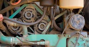 Μηχανή αυτοκινήτων Στοκ Φωτογραφία