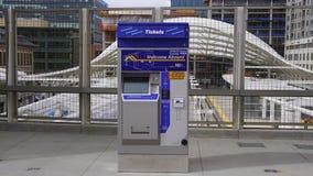Μηχανή εισιτηρίων Στοκ φωτογραφίες με δικαίωμα ελεύθερης χρήσης