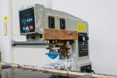 Μηχανή εκτύπωσης μαξιλαριών Στοκ φωτογραφία με δικαίωμα ελεύθερης χρήσης