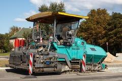 Μηχανή επίστρωσης ασφάλτου Στοκ φωτογραφία με δικαίωμα ελεύθερης χρήσης