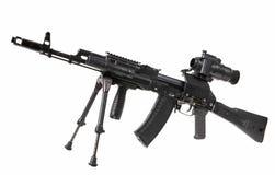 μηχανή καλάζνικοφ πυροβόλ Στοκ φωτογραφία με δικαίωμα ελεύθερης χρήσης