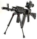 μηχανή καλάζνικοφ πυροβόλ Στοκ Φωτογραφίες