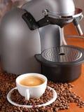 μηχανή καφέ Στοκ εικόνες με δικαίωμα ελεύθερης χρήσης