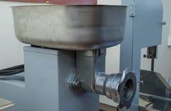 Μηχανή κοπής κιμά Στοκ Εικόνες