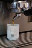 μηχανή λεπτομέρειας καφέ Στοκ εικόνες με δικαίωμα ελεύθερης χρήσης